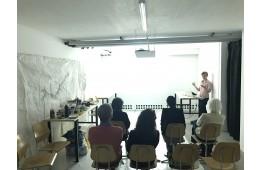 Workshop avec l'artiste